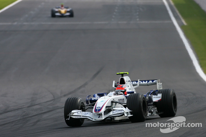 Robert Kubica, BMW Sauber F1 Team , Heikki Kovalainen, Renault F1 Team