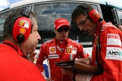 Кими Райкконен, Scuderia Ferrari, Жан Тодт, Scuderia Ferrari, генеральный директор Ferrari, Крис Дай