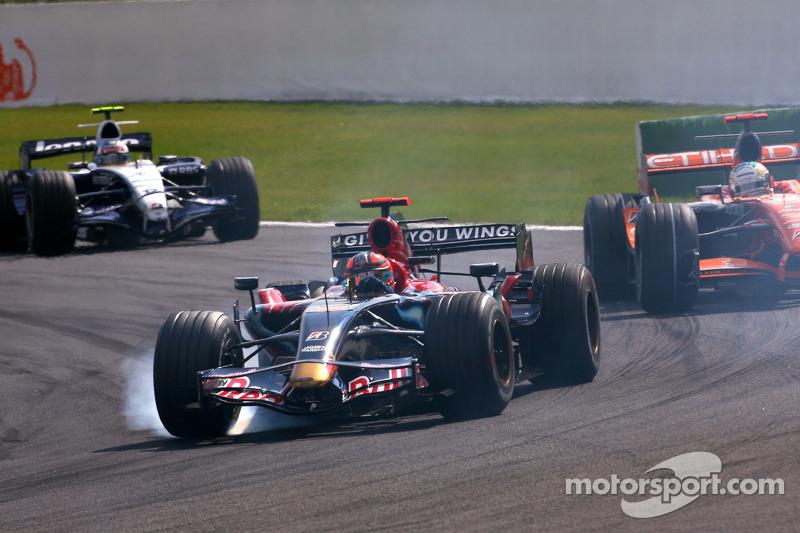 Vitantonio Liuzzi, Scuderia Toro Rosso, Adrian Sutil, Spyker F1 Team