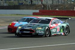 #50 AMR Larbre Aston Martin DBR9: Christophe Bouchut, Gabriele Gardel, Fabrizio Gollin