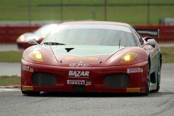#97 GPC Sport Ferrari 430 GT: Sergio Hernandez, Alessandro Bonetti, Fabrizio Simone, Matteo Bobbi