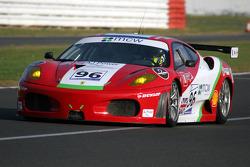 #96 Virgo Motorsport Ferrari F430 GT: Robert Bell, Allan Simonsen