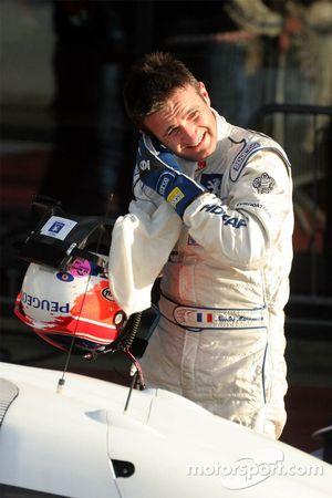 Le vainqueur de la course Nicolas Minassian
