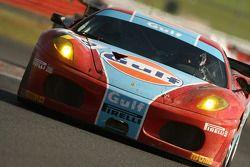 #98 Ice Pol Racing Team Ferrari F430 GT: Yves Lambert, Christian Lefort, Stéphane Lémeret