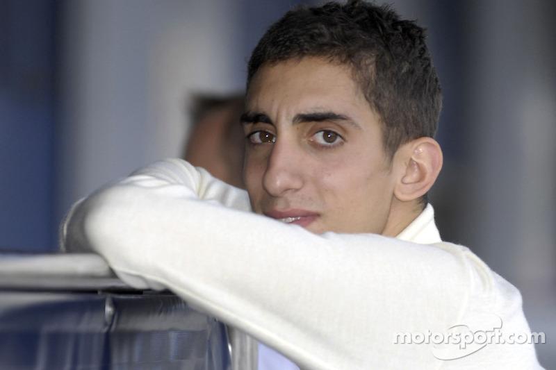 O jovem Buemi no começo de sua passagem pela F1