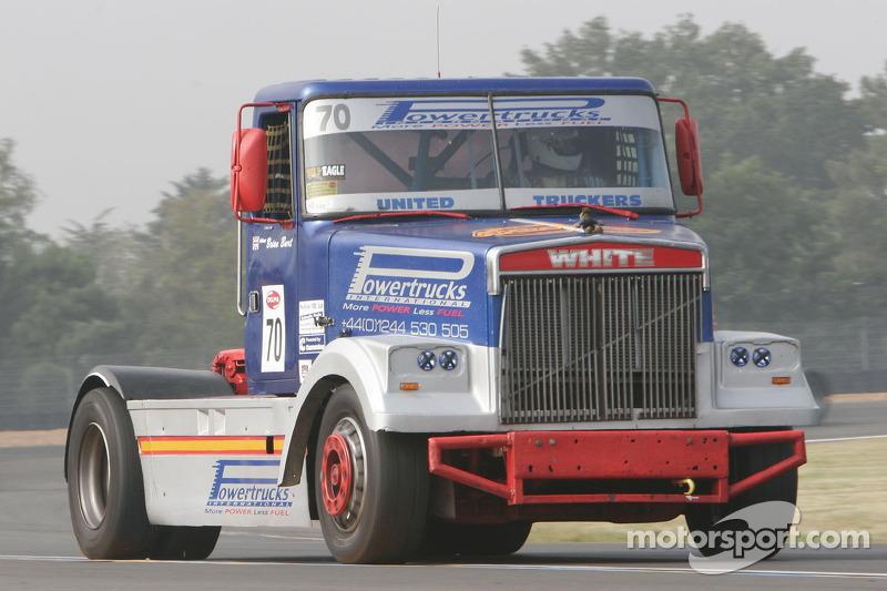70 Burt Brian Volvo White Team Truck Racing