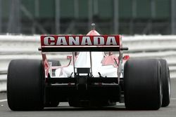 James Hinchcliffe, driver of A1 Team Canada