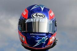 Helmet, Guillaume Moreau, driver of A1 Team France