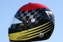 Helmet, Parthiv Sureshwaren, driver of A1 Team India