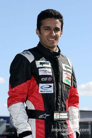 Parthiv Sureshwaren, driver of A1 Team India