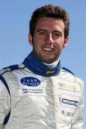 Giuseppe Termine, pilote de A1 Equipe d'Italie
