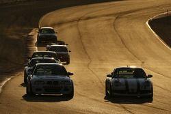 #91 Automatic Racing BMW M3: Tim George Jr., Conrad Grunewald, #72 BGB Motorsports Porsche 996: John Tecce