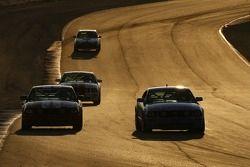 #150 Rehagen Racing Mustang GT: Jim Click, Mike McGovern, #112 Larry H Miller Racing Mustang GT: Augie Pabst III