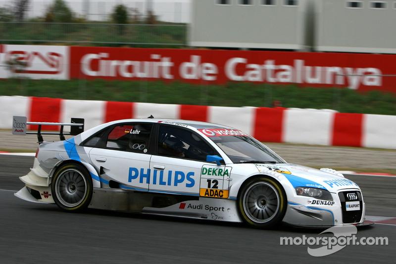 #12: Lucas Luhr, Audi, A4 DTM 2006
