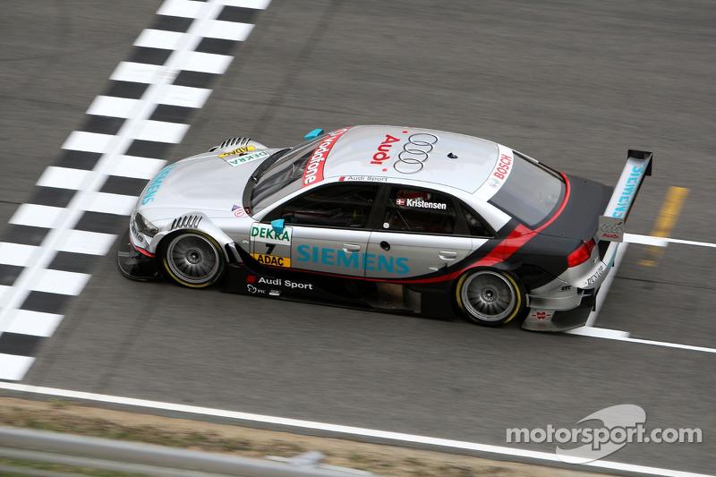 #7: Tom Kristensen, Audi, A4 DTM 2007