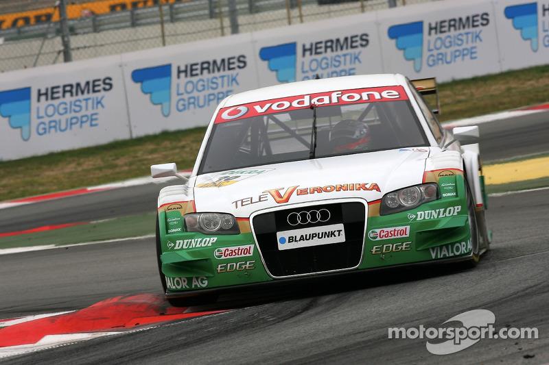 #20: Markus Winkelhock, Audi, A4 DTM 2005