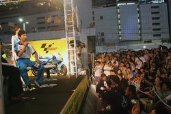 Fan fest en Motegi: Shinya Nakano