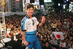 Fan fest at Motegi: Shinya Nakano