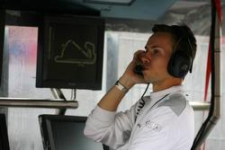 James Goodfield, Race Engineer of Susie Stoddart