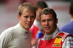 Mattias Ekström, Audi Sport Team Abt Sportsline and Tom Kristensen, Audi Sport Team Abt Sportsline