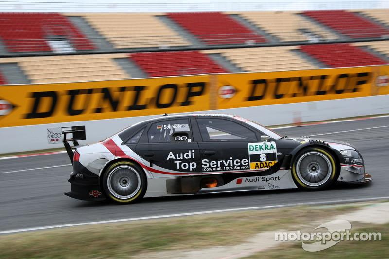 #8: Timo Scheider, Audi, A4 DTM 2007