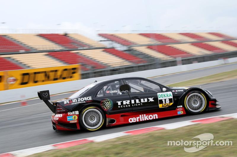 #18: Mathias Lauda, Mercedes, C-Klasse 2006