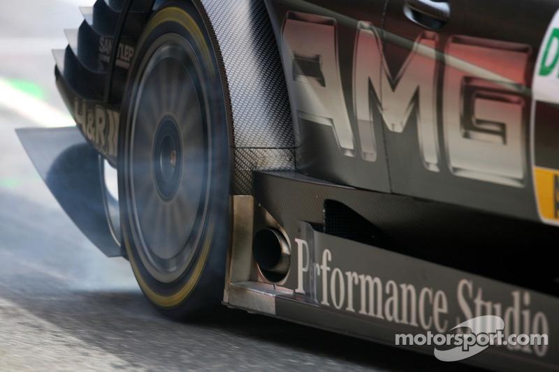 Mika Hakkinen, Team HWA AMG Mercedes, AMG Mercedes C-Klasse