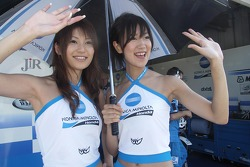 Chicas Konica Minolta Honda