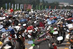 Fans parking