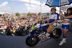 Valentino Rossi on stage