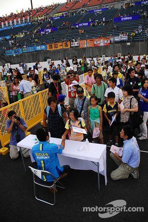Autograph session: Kousuke Akiyoshi
