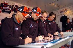 Garry Rogers Motorsport Team signing