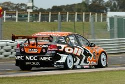 Craig Baird behind the wheel of the # 16 car
