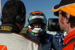 Mark Winterbottom grabbed pole position