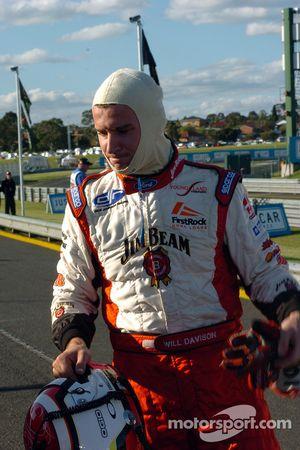 Will Davison grabbed 7th for Jim Beam Racing