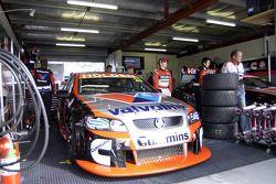 The Garry Rogers Motorsport garage