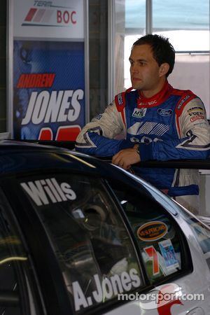 Andrew Jones ponders his chances