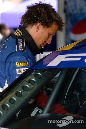 Warren Luff joined Fujitsu Racing for the enduro
