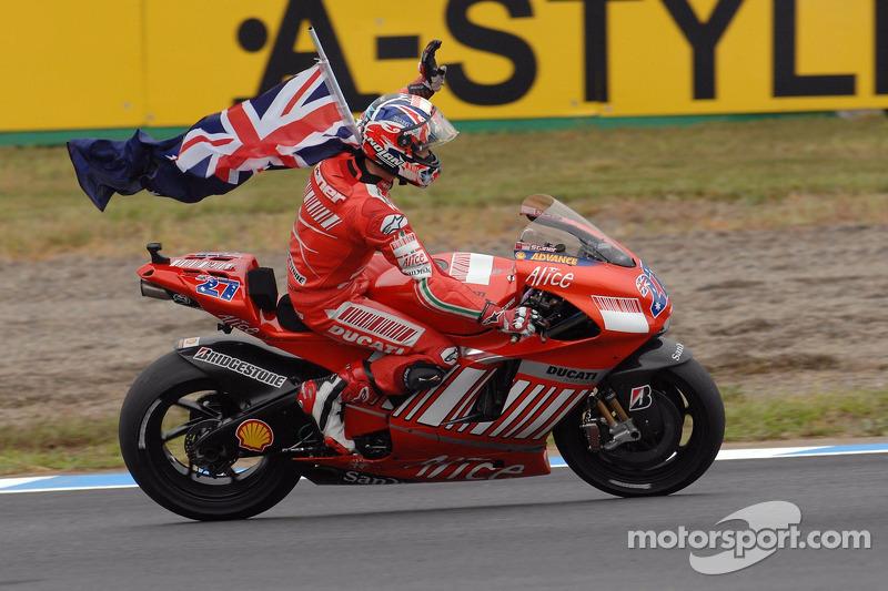 2007 - Casey Stoner, Ducati