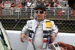 Mathias Lauda, Mücke Motorsport AMG Mercedes, AMG Mercedes C-Klasse on the starting grid