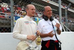 Alexandre Premat, Audi Sport Team Phoenix, Audi A4 DTM and Dr Wolfgang Ullrich, Audi's Head of Sport