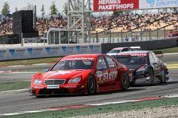Alexandros Margaritis, Persson Motorsport AMG Mercedes, AMG Mercedes C-Klasse before Timo Scheider,