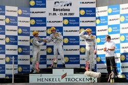 Podium: 1st Jamie Green, Team HWA AMG Mercedes, AMG Mercedes C-Klasse; 2nd Bruno Spengler, Team HWA