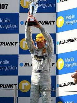 Podium: Paul di Resta, Persson Motorsport AMG Mercedes