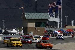#56 BSI Racing Mazda MX-5: Todd Buras, Christian Miller, #53 Predator Auto Sport Chevrolet Cobalt: Tyler Givogue, Kurt Kossmann