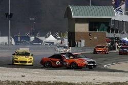 #56 BSI Racing Mazda MX-5: Todd Buras, Christian Miller et #138 GS Motorsports Chevrolet Cobalt: Ste