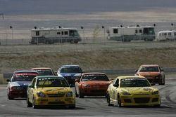 #06 Project Motorsports Chevrolet Cobalt: Derek DeBoer, Tom Smurzynski, Mallory Smurzynski, #69 SpeedSource Mazda RX-8: David Haskell, Jose Armengol