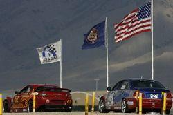 #62 Roar Racing Mazda RX-8: Ricky Diaz, Chip Van Vurst, #127 Fountain Motorsports BMW 330i: Guy Cosm