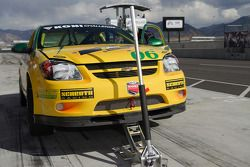 Arrêt au stand pour la #06 Project Motorsports Chevrolet Cobalt: Derek DeBoer, Tom Smurzynski, Mallo