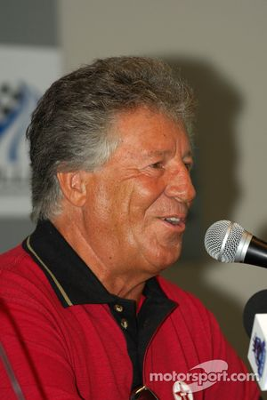 Press conference: racing legend Mario Andretti